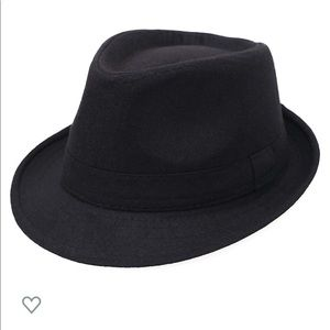 Classic Wool Blend Structured Fedora Hat